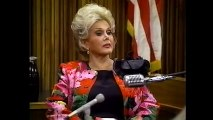 Zsa Zsa Gabor 1989 The People Vs. Zsa Zsa Gabor part 2/2