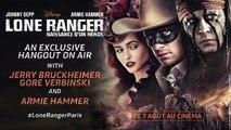 Bêtisier Hangout Lone Ranger - Gore Verbinski se v