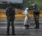 Los héroes anónimos se popularizan en protestas de Venezuela