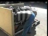 Mise en caisses side car BMW R12 CMPN Envoi en Argentine.