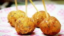 Potato Lollipop Recipe - Easy evening tea snacks recipes  Veg Party starters appetizer dish ideas