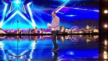 Simon Cowell comes face-to-face with Simon Cowell | Auditions Week 2 | Britain's Got Talent 2017