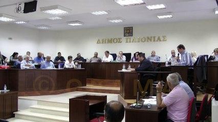 Δημοτικό Συμβούλιο Δήμου Παιονίας 26-05-2016