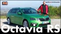 Skoda Octavia RS & Octavia Scout 2017 Test & Driving Report English