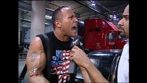 The Undertaker Tombstones The Rock onto a limo- SmackDown, Feb. 7, 2002