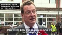 Vote à Londres: les Français prennent leur mal en patience