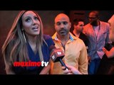 "RHONJ Melissa Gorga INTERVIEW OK! Magazine's ""So Sexy"" NY Party"