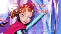 И Анна по бы дисней кукла Эльза замороженный замороженные лед Принцесса Обзор каток катание на коньках Игрушки с молодой dctc
