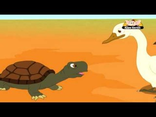 Panchatantra Tales in Gujarati - The Talkative Tortoise