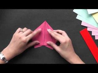 Origami in Marathi - Make a Beautiful Rose
