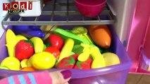 Fibrine n / A sur ou pour Jai mon nouveau jeu de jouets poupées réfrigérateur cuisine alimentaire