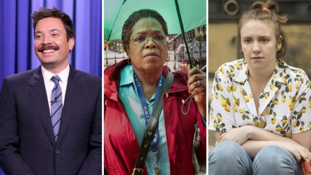 Emmys 2017: Jimmy Fallon, Oprah, Lena Dunham and More Snubbed   THR News
