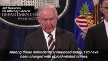 US charges 412 people for health fraud, opioid scams