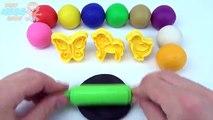 Jugar y Aprender colores con plastilina patos arcilla modelado divertido para Niños Parque zoológico animales moldes
