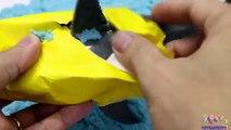 Apprentissage requins les baleines et Mer animaux pour enfants avec jouets et le sable éducatif vidéo pour
