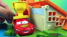 Par par des voitures foudre jouer Ensemble un camion avec Disney mack mcqueen disneycartoys