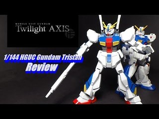 1/144 HGUC Gundam Tristan Review