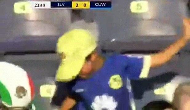 Zelaya Goal ~ El Salvador vs Curacao 2-0