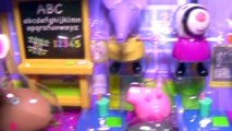 Comme classe apprentissage fric Nouveau porc jouer récompense chambre Ensemble à Il Alphabet peppa doh pops abc