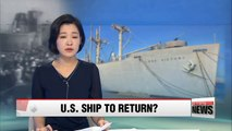 Renewed efforts to secure U.S. ship that evacuated thousands during Korean War