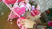 Bébé poupées garderie Centre bébé alimentation et en train de manger pot temps bain temps et être