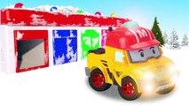 Des voitures enfants les couleurs pour Apprendre à Il jouet avec Robocar Robo voiture voiture poli jouet poly