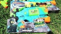 BATAILLE DE NERF SUPER SOAKER au bord de la Piscine - Nerf Super Soaker War