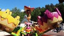 VLOG - MANÈGES 100% FUN & SENSATIONS pour Swan à FRAISPERTUIS City Parc d'Attractions
