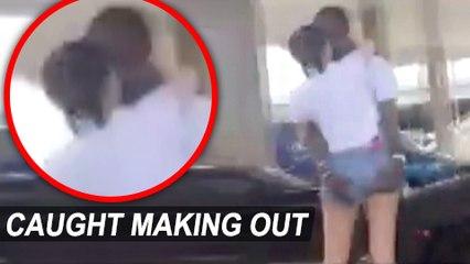 Kylie Jenner & Travis Scott Public Makeout Caught On Camera