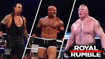 Roman Reigns vs Brock Lesnar vs Goldberg vs Undertaker - Royal Rumble (2017) - Undertaker vs Goldberg vs Brock Lesnar vs Roman Reigns Full Match Royal Rumble (2017) - WWE