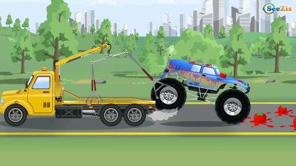 Tractores infantiles - Excavadoras para niños - Carritos infantiles - Videos Para Niños