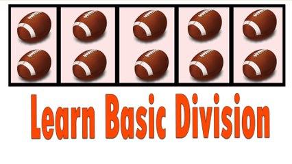 Division | Learn Basic Division - Easy for Kids | Division Song - Basic Math For Kids