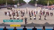 Quand l'armée française joue Daft Punk #14juillet