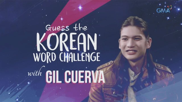 Guess the Korean word challenge with Gil Cuerva
