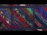 Recycling mens ties into quilts with Valerie Nesbitt (Taster Video)