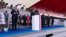14-Juillet: l'intégralité du discours d'Emmanuel Macron après le défilé à Paris