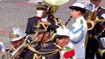 14-juillet : l'armée rend hommage aux victimes de l'attentat de Nice pendant la cérémonie de clôture