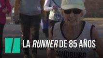 La runner de 85 años