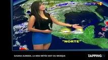Susana Almeida, la miss météo torride venue du Mexique ! (Vidéo)