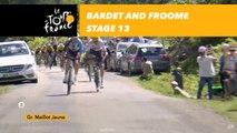 Bardet et Froome dans la descente / in the downhill - Étape 13 / Stage 13 - Tour de France 2017