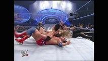 The Rock, Undertaker & Kane vs. Edge, Christian & Kurt Angle- SmackDown,
