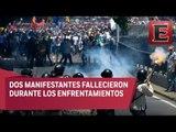 Violentas protestas contra Maduro en Venezuela