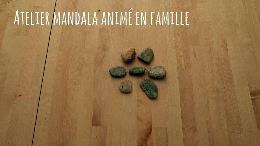 Ateliers mandala en famille 2017