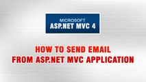 ASP.NET MVC 4 Tutorial In Urdu - How to Send Email from ASP.NET MVC Appllication