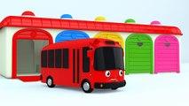 Les couleurs pour enfants à Apprendre avec couleur autobus jouet couleurs pour enfants à Apprendre apprentissage