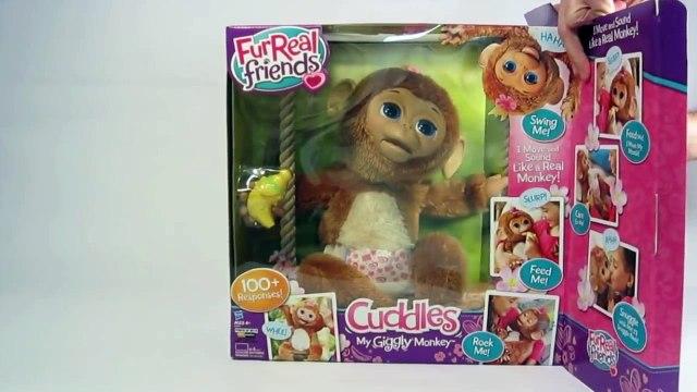 Amis de singe mon Furrio Cuddles Giggly Hasbro