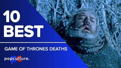 10 Best Game of Thrones Deaths