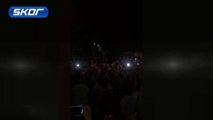 Galatasaray taraftarından Sneijder'in gönderilmesine tepki