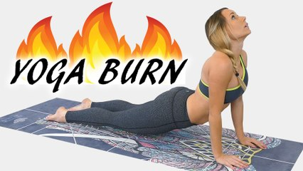 Feel the Yoga Burn with Becca | Total Body Workout 20 Minutes, Beginners Home Fitness, Weight Loss