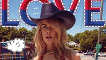 Nicole Kidman Looks Cowgirl Chic in Racy Red Swimsuit for 'Love' Magazine